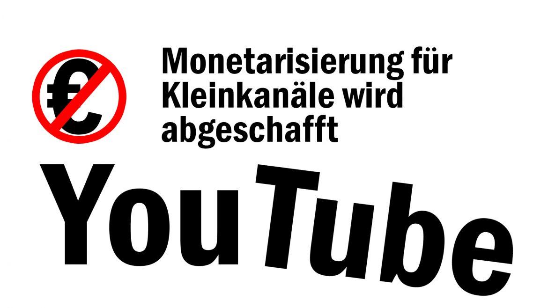 YouTube ändert Partnerprogramm