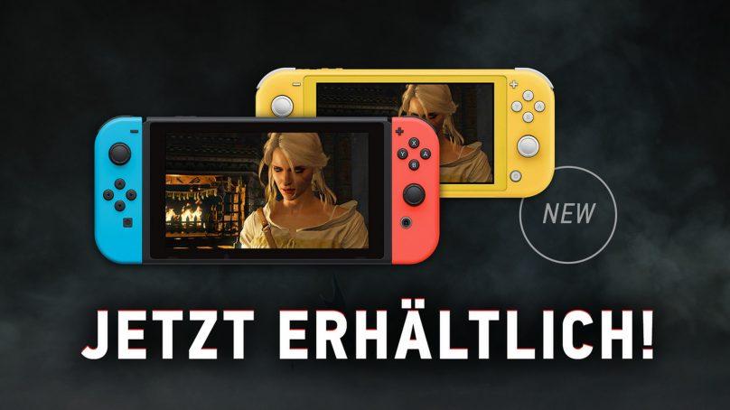 Witcher 3 für die Nintendo Switch veröffentlicht