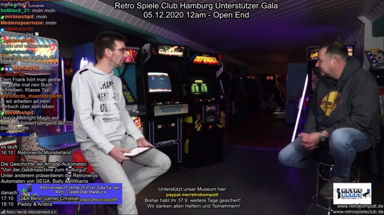 Spendengala vom Retro Spiele Club Hamburg